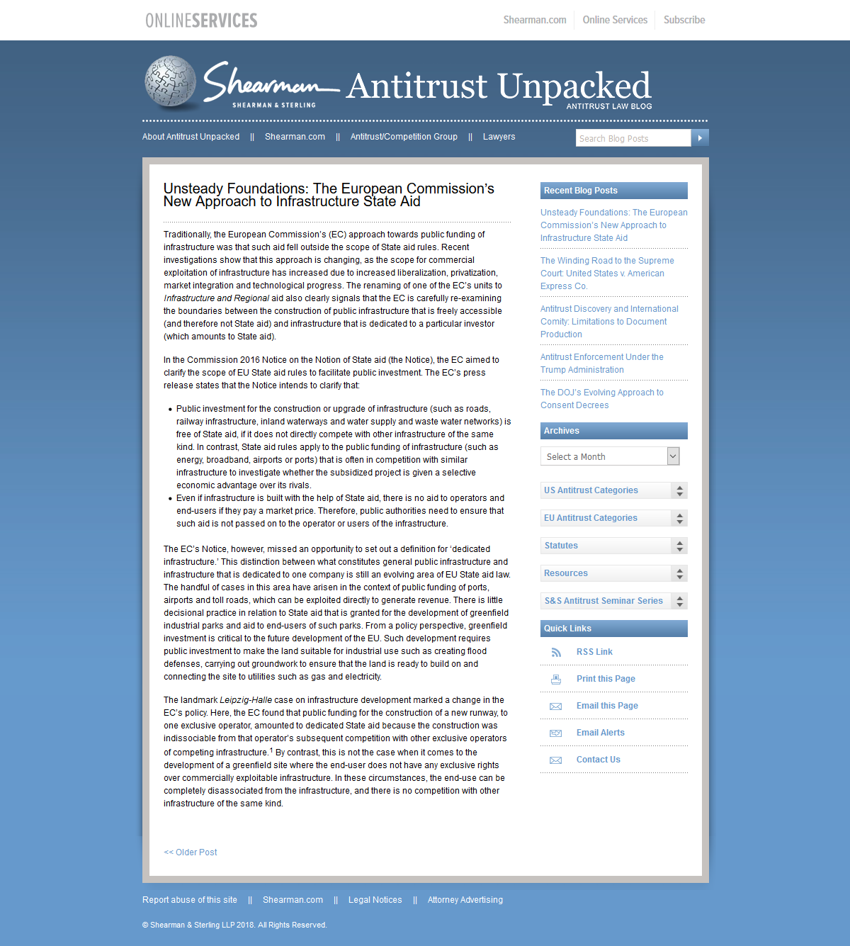 Antitrust Unpacked