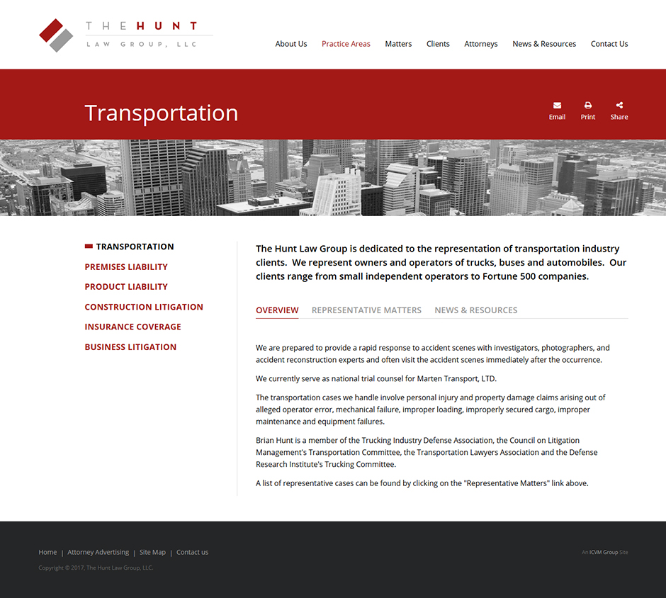 Identity / Firm Website