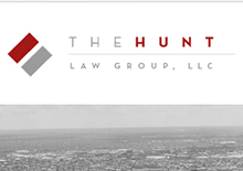 The Hunt Law Group, LLC Website