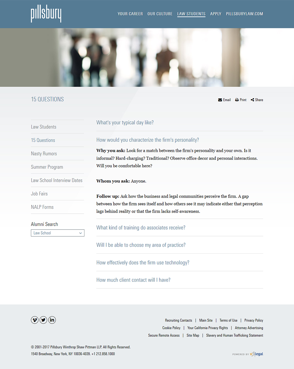 Careers Website