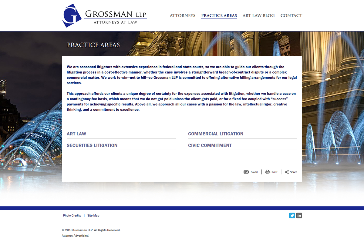 Firm Website