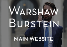 Warshaw Burstein LLP Website