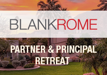 Blank Rome Partner Retreat Website