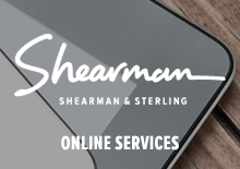 Shearman & Sterling LLP Online Services Website